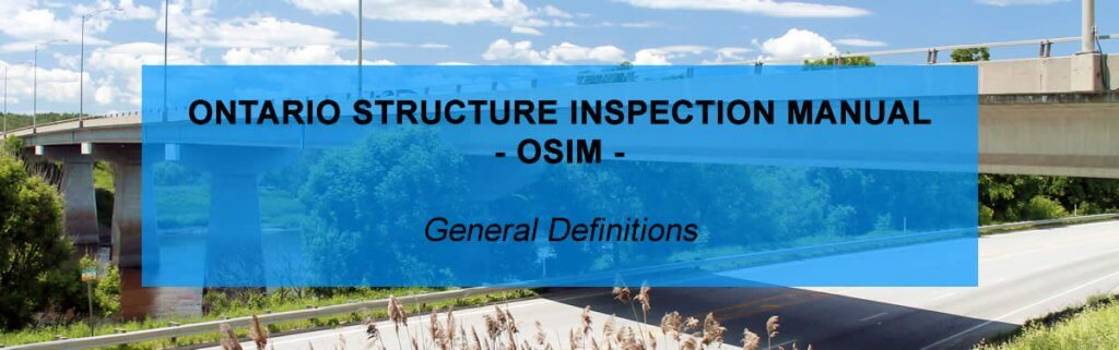 Ontario Structure Inspection Manual