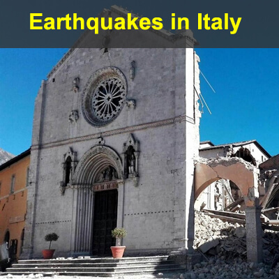 Earthquakes in Italy