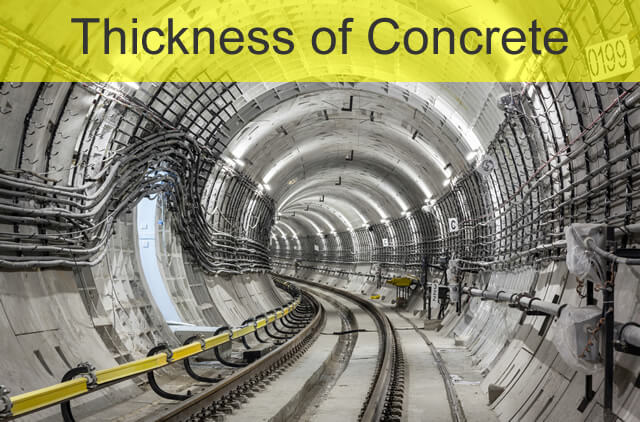 Thickness Measurement of Concrete Lining