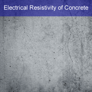 electrical resistivity of concrete