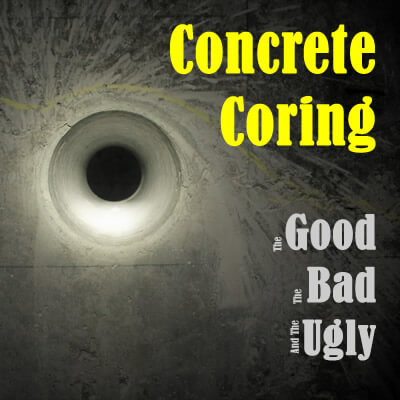 Concrete Coring Structure Inspection