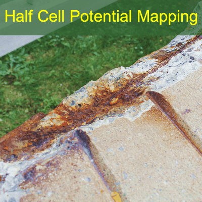 Half Cell Corrosion Potential Mapping