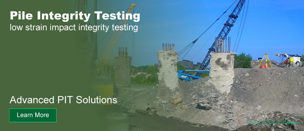 Pile Integrity Testing Services