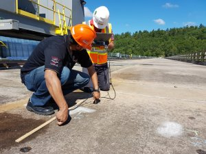 UPV for condition survey of bridge decks