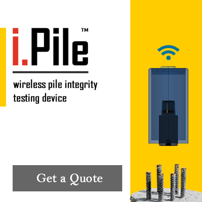 i.Pile™ | Wireless Pile Integrity Testing
