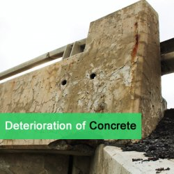 Deterioration of Concrete-Feature Image