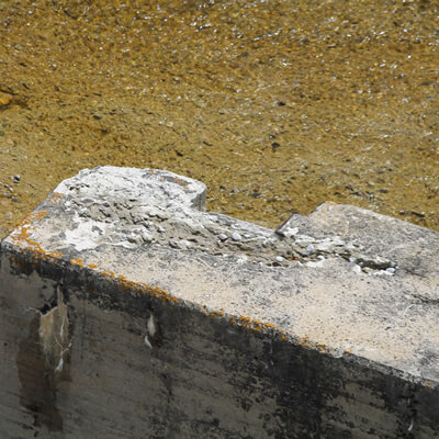 Erosion of Concrete