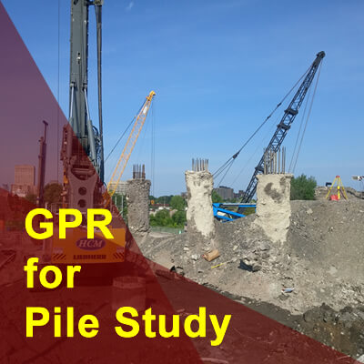 How to Use GPR for Evaluation of Concrete Piles