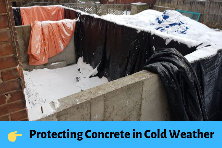 Protecting Concrete in Cold Weather