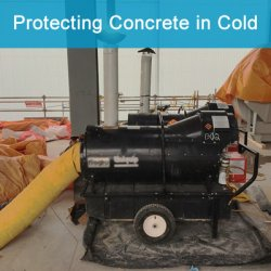 Heating Concrete Cold Weather Concreting FPRimeC Solution