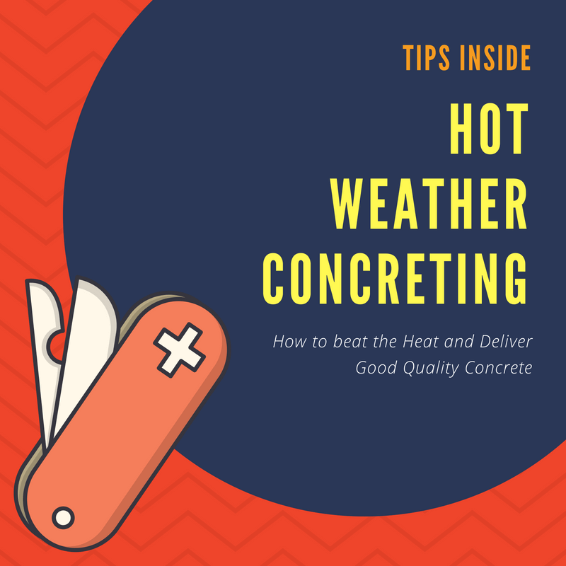 Hot Weather Concreting Tips