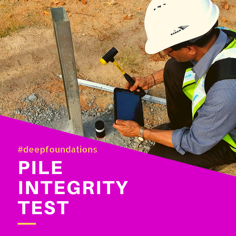What is Pile Integrity Test _