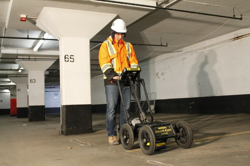 Ground Penetrating Radar in Parking Garage Inspection