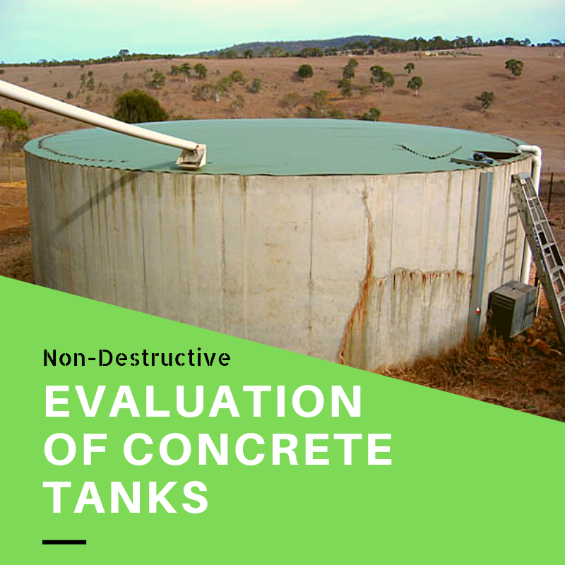 Nondestructive testing of concrete tanks (1)