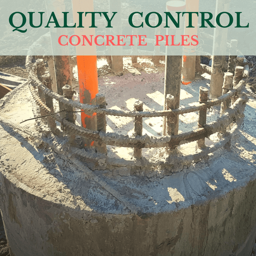 Quality Control Of Concrete Piles Feature