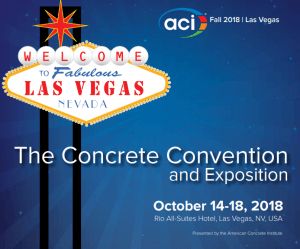 aci fall 2018 convention