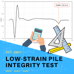Low Strain Pile Integrity Test