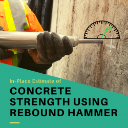 In-Place Methods to Estimate Concrete Strength Using Rebound Hammer