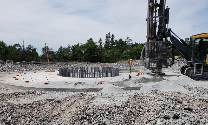 Excessive heat development and dissipation may result in thermal contraction cracking shortly after the concrete hardens — compromising the structural integrity and durability of the foundation.