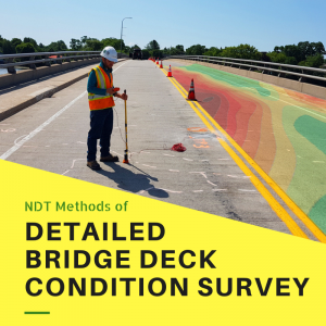Non-Destructive Testing for Detailed Bridge Condition Survey