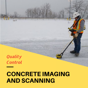 Quality Control - Scanning and Imaging of Concrete Slab on Grade