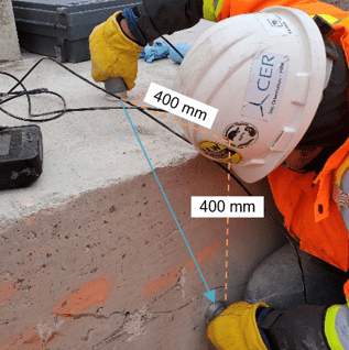 Ultrasonic Pulse Velocity for Concrete Strnegth