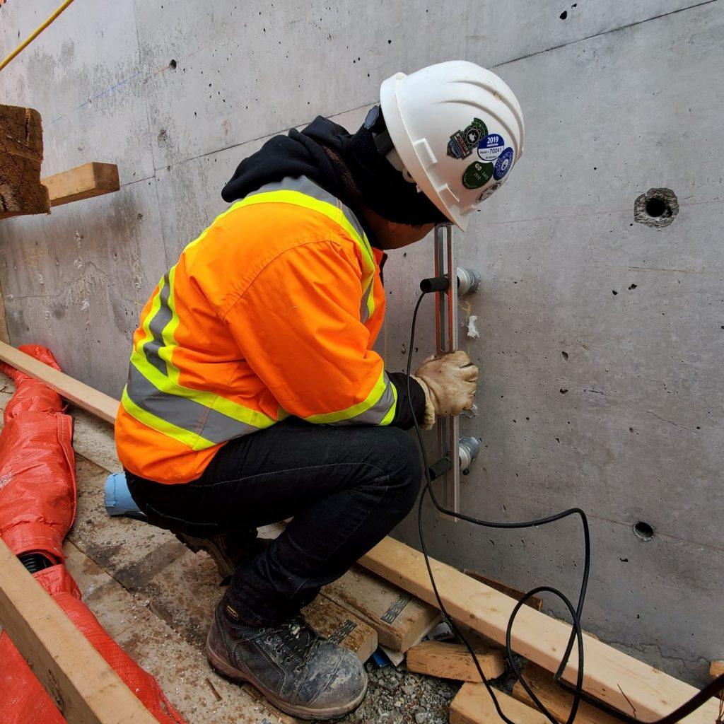 Cold Joint in Concrete Walls