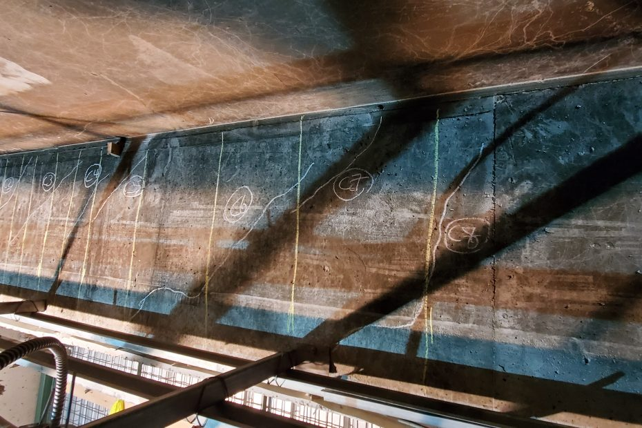 Inspection and Evaluation of Concrete Beam