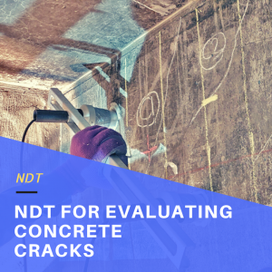 Non-Destructive Evaluation of Cracking in Concrete Beams