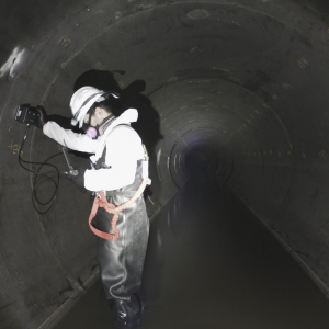Non-Destructive Evaluation of Trunk Sewers