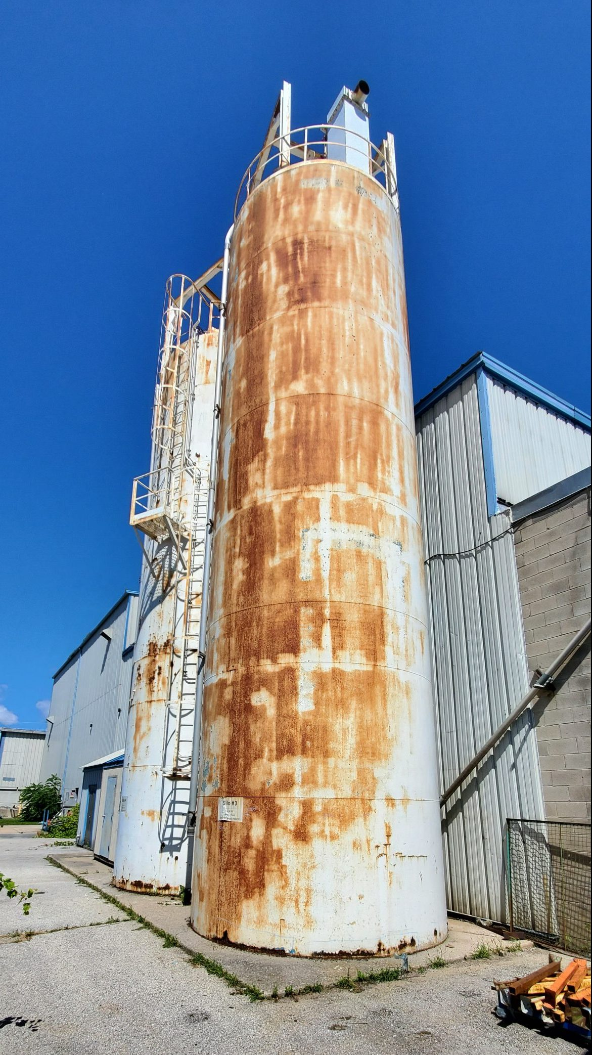 Structural Condition Assessment of Steel Silo